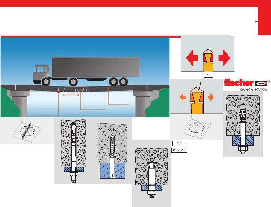 Envase de 10 ud. Varilla para anclaje quimico con rosca interior RG 8x75 M5 I FISCHER 048221